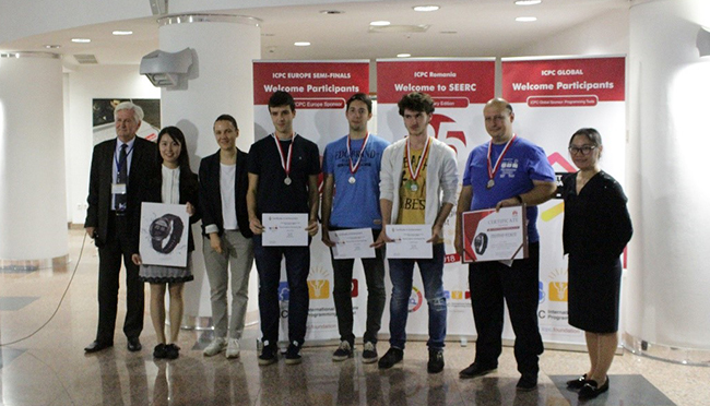 Students from the Faculty of Mathematics and Informatics Won