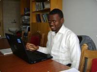 Alex Kokobili (fromer MA student, Nijeria)