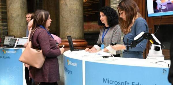 microsoft-education-day-bulgaria-2018-stand