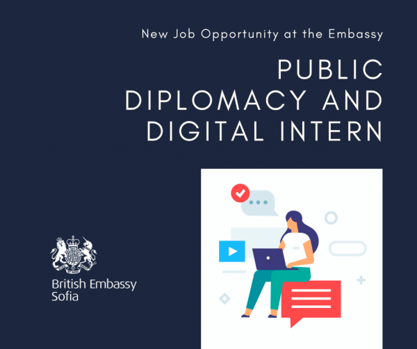 thumbnail_Public Diplomacy and Digital Intern - British Embassy Sofia