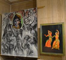 Two Exhibitions Dedicated to India Opened at the Sofia University Alma Mater Gallery