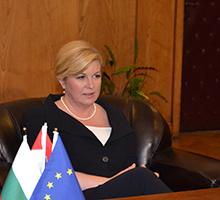 The President of the Republic of Croatia Delivered a Lecture at Sofia University