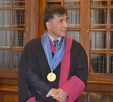 Professor Chin Che Kyo Was Awarded a Doctor Honoris Causa Honorary Degree by Sofia University