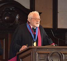 """Проф. дхн Стойко Факиров от Университета в Оукланд в Нова Зеландия бе удостоен с почетното звание """"доктор хонорис кауза"""" на Софийския университет"""