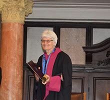 Professor Donka Minkova was Conferred a Doctor Honoris Causa Degree by Sofia University