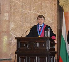 Professor Thierry de Montbrial Was Conferred Doctor Honoris Causa of Sofia University