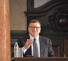 "José Manuel Barroso:""We can stay patriots and love our own country and at the same time we can defend the common ideas and the common citizenship of Europe"""